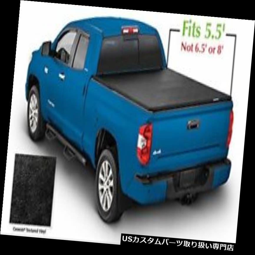 トノーカバー トノカバー ルンド950120創世記黒三つ折りトノーカバー Lund 950120 Genesis Black Tri-Fold Tonneau Cover