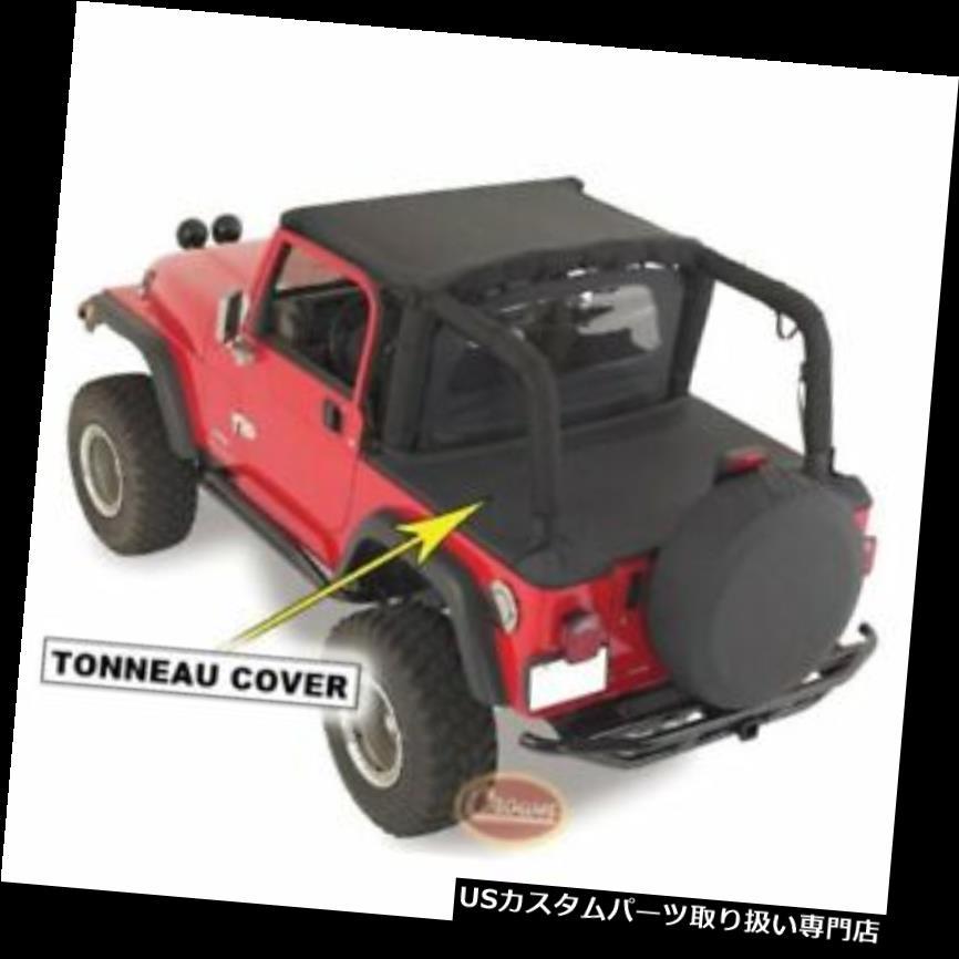 トノーカバー トノカバー 1992-95ジープラングラーのためのRTオフロードTN10015 Tonneauカバーブラックデニム RT Off-Road TN10015 Tonneau Cover Black Denim For 1992-95 Jeep Wrangler