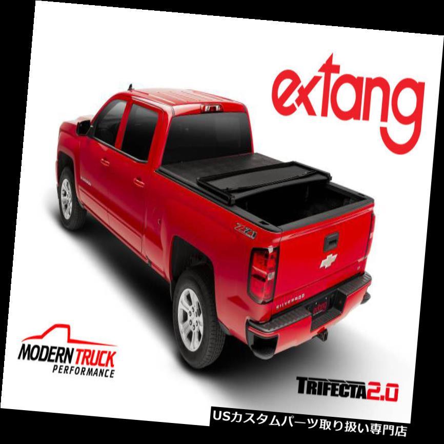 トノーカバー トノカバー Extang Trifecta 2.0 Tri Fold Tonneauカバー14-18シボレーシルバラード5'8