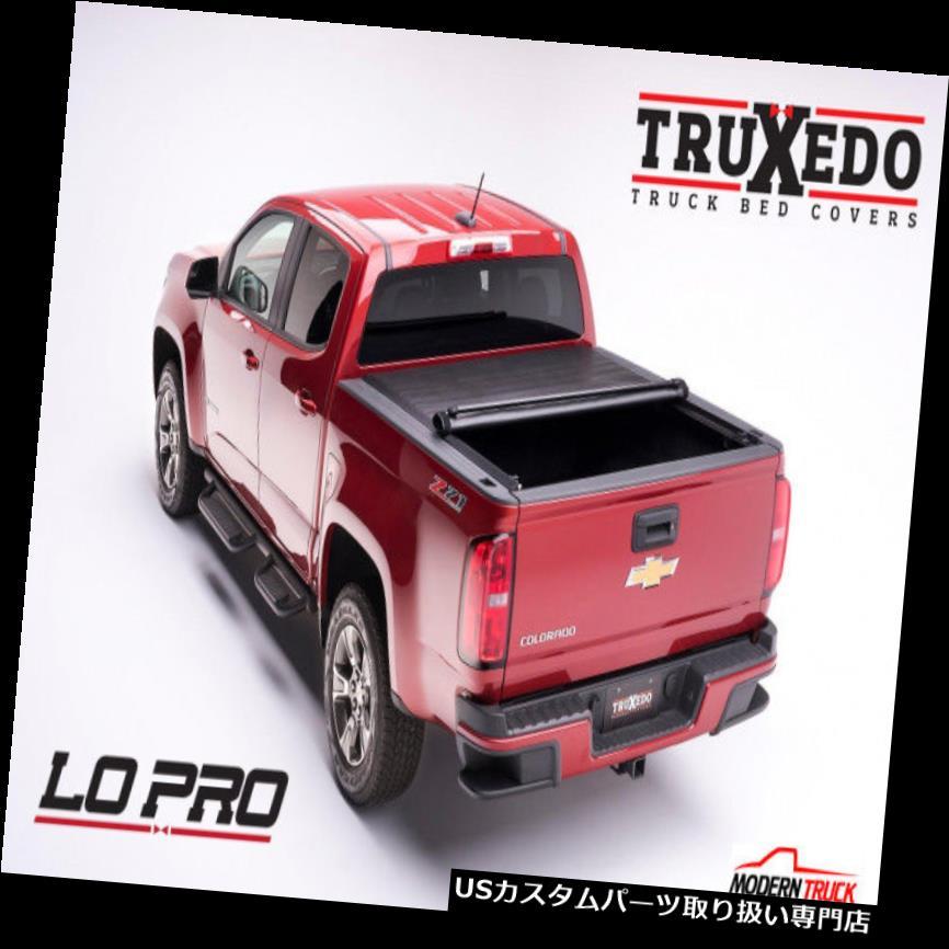 トノーカバー トノカバー TruXedo Lo Pro QTトノカバー2015+ GMCキャニオンクルー5 'ベッド549801 TruXedo Lo Pro QT Tonneau Cover 2015+ GMC Canyon Crew 5' Bed 549801