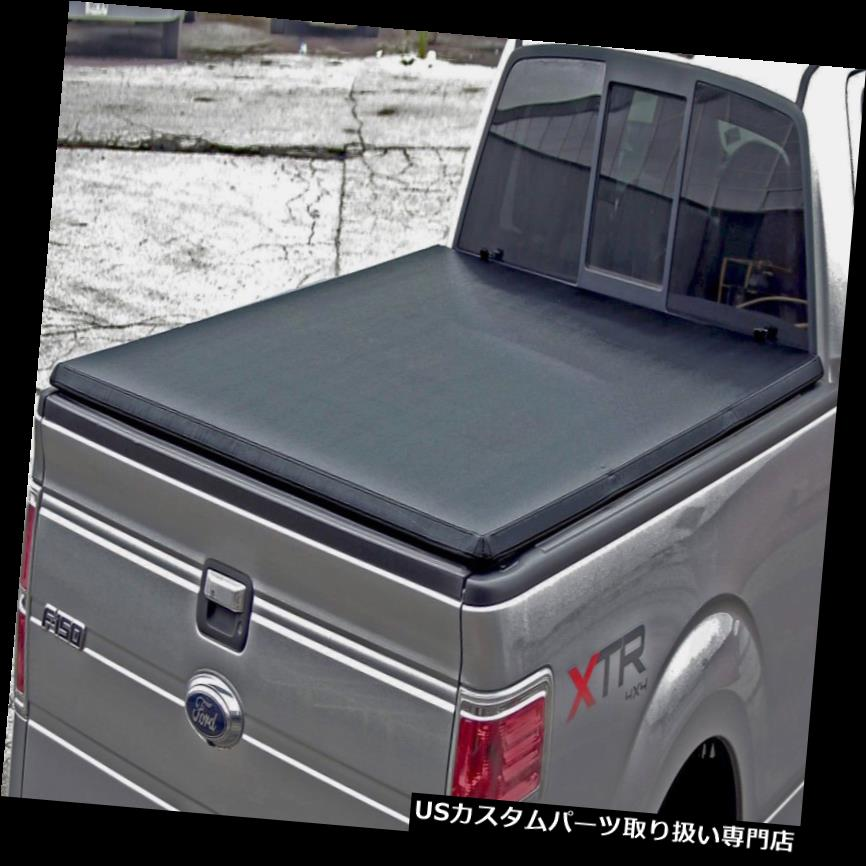トノーカバー トノカバー 三つ折り6.5 '標準ベッドTonneauカバーw / 2004-2018用フォードF-150トンノ Tri-fold 6.5' Standard Bed Tonneau Cover w/ Lock for 2004-2018 Ford F-150 Tonno