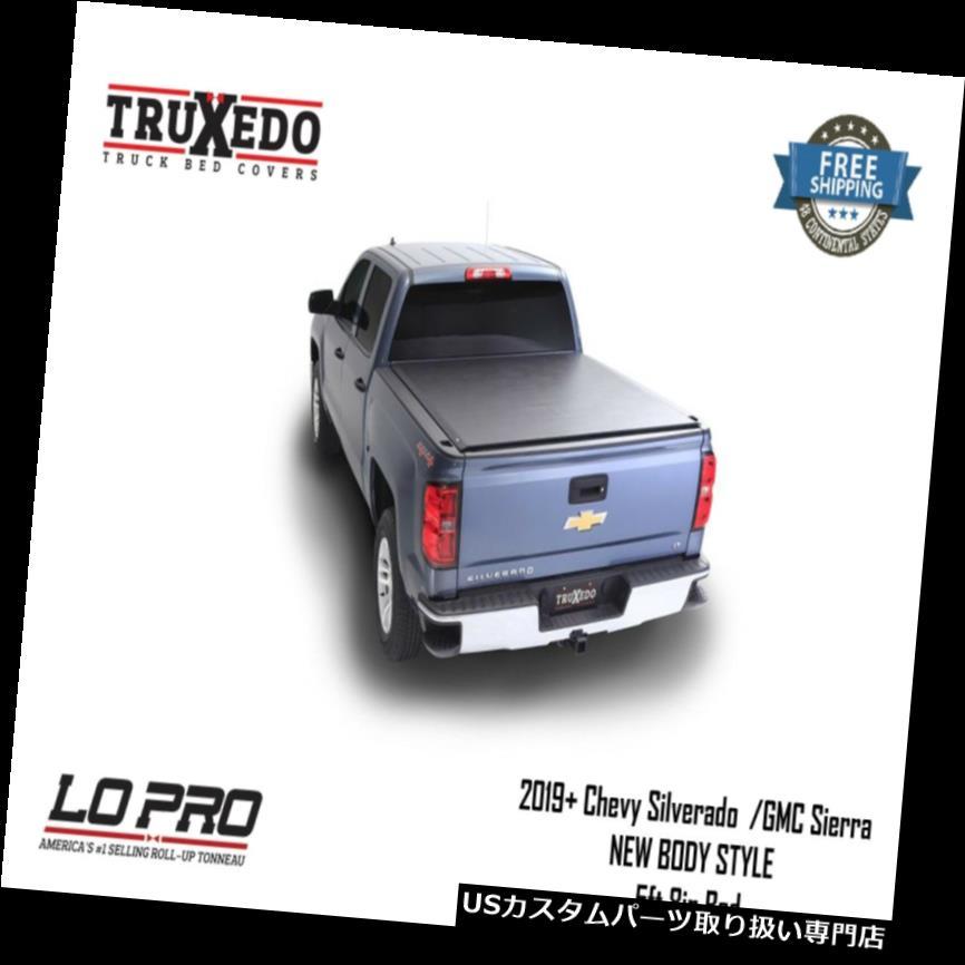 トノーカバー トノカバー TruXedo Lo Pro QTトノーカバー2019+シボレーシルバラードGMCシエラ5'8インチベッド572401 TruXedo Lo Pro QT Tonneau Cover 2019+ Chevy Silverado GMC Sierra 5'8