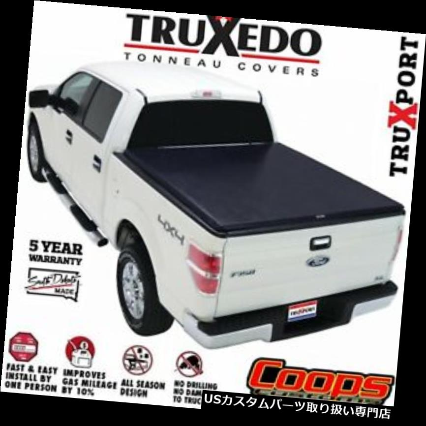 トノーカバー トノカバー Truxedoロールアップトノーベッドカバー14-18シボレーシルバラード/ GMCシエラ6.5 'ベッド Truxedo Roll Up Tonneau Bed Cover 14-18 Chevy Silverado / GMC Sierra 6.5' Bed