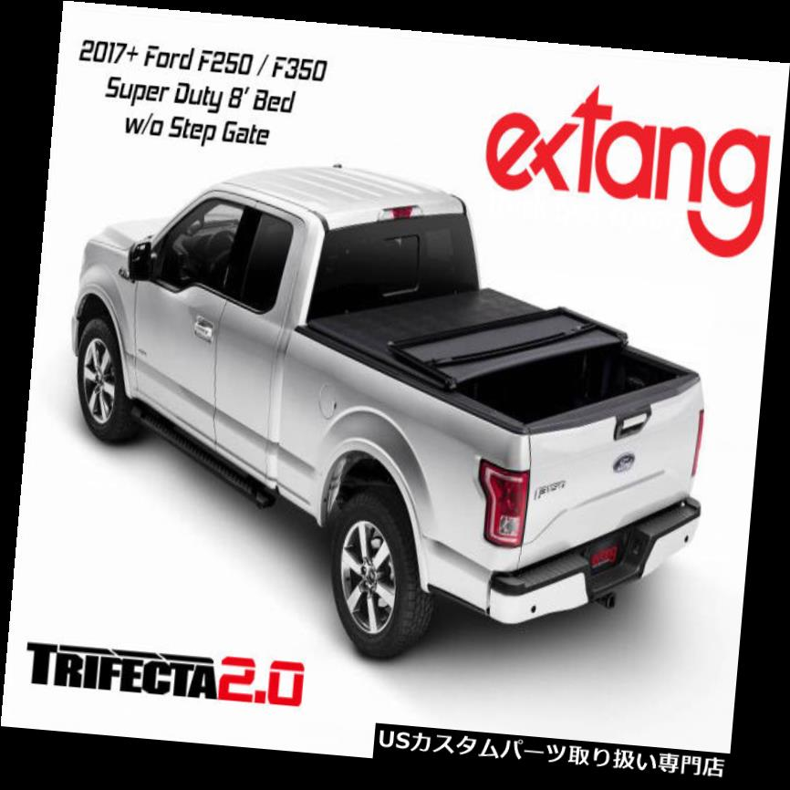 USトノーカバー/トノカバー Extang Trifecta 2.0 Tri Fold Tonneauカバー17+フォードF250 / F360 8インチベッド92488 Extang Trifecta 2.0 Tri Fold Tonneau Cover 17+ Ford F250 / F360 8' Bed 92488
