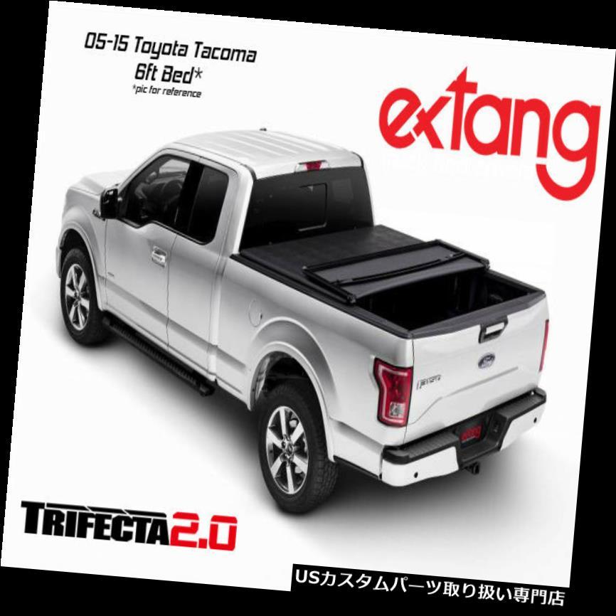 トノーカバー トノカバー Extang Trifecta 2.0三つ折りトノカバー05-15トヨタタコマ6 'ベッド92915 Extang Trifecta 2.0 Tri Fold Tonneau Cover 05-15 Toyota Tacoma 6' Bed 92915