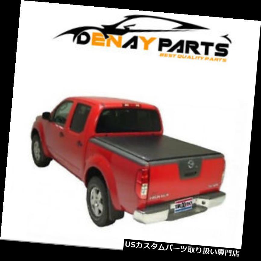 トノーカバー トノカバー 2005-2018日産フロンティアロープロQTロールアップトノカバー、TruXedo - 592301 For 2005-2018 Nissan Frontier Lo Pro QT Roll Up Tonneau Cover, TruXedo - 592301