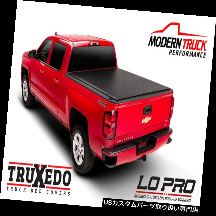 トノーカバー トノカバー TruXedo Lo Pro QTトノーカバー2014-2017 GMC Sierra 8 'Bed PT#572201 TruXedo Lo Pro QT Tonneau Cover 2014-2017 GMC Sierra 8' Bed PT# 572201