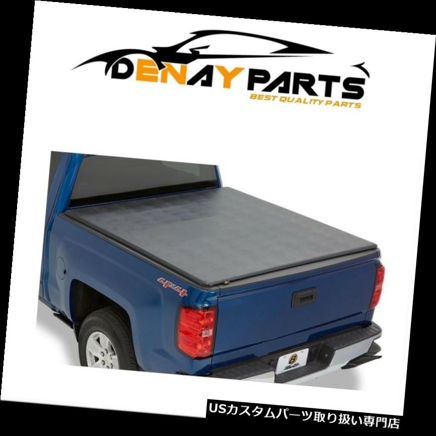 USトノーカバー/トノカバー 2007-2018トヨタツンドラ(W / Oデッキレール)Ezfoldソフトトノカバーにフィット Fits 2007-2018 Toyota Tundra (W/O DECK RAILS) Ezfold Soft Tonneau Covers
