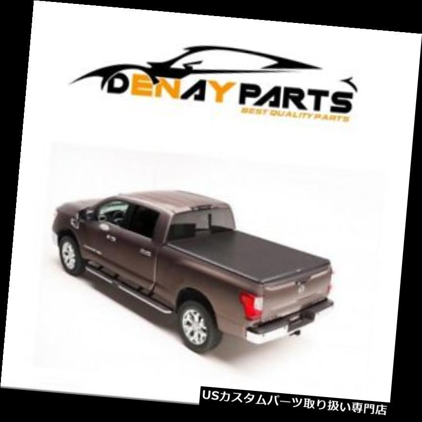 トノーカバー トノカバー 2017-2018日産タイタンTruXportロールアップトノーカバーTruXedo 288801 For 2017-2018 Nissan Titan TruXport Roll Up Tonneau Cover TruXedo 288801