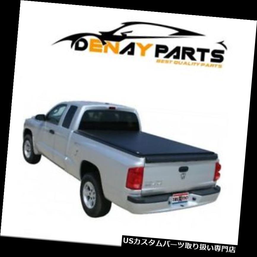 トノーカバー トノカバー 2000-2007のための覆い焼きDakota LoプロQTはTonneauカバーTruXedo 590101を転がします For 2000-2007 Dodge Dakota Lo Pro QT Roll Up Tonneau Cover TruXedo 590101