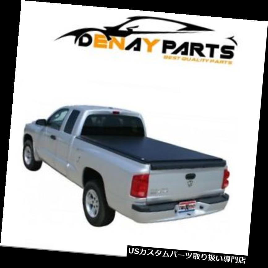 トノーカバー トノカバー 2005-2007のための覆い焼きDakota LoプロQTはTonneauカバーTruXedo 562301を転がします For 2005-2007 Dodge Dakota Lo Pro QT Roll Up Tonneau Cover TruXedo 562301
