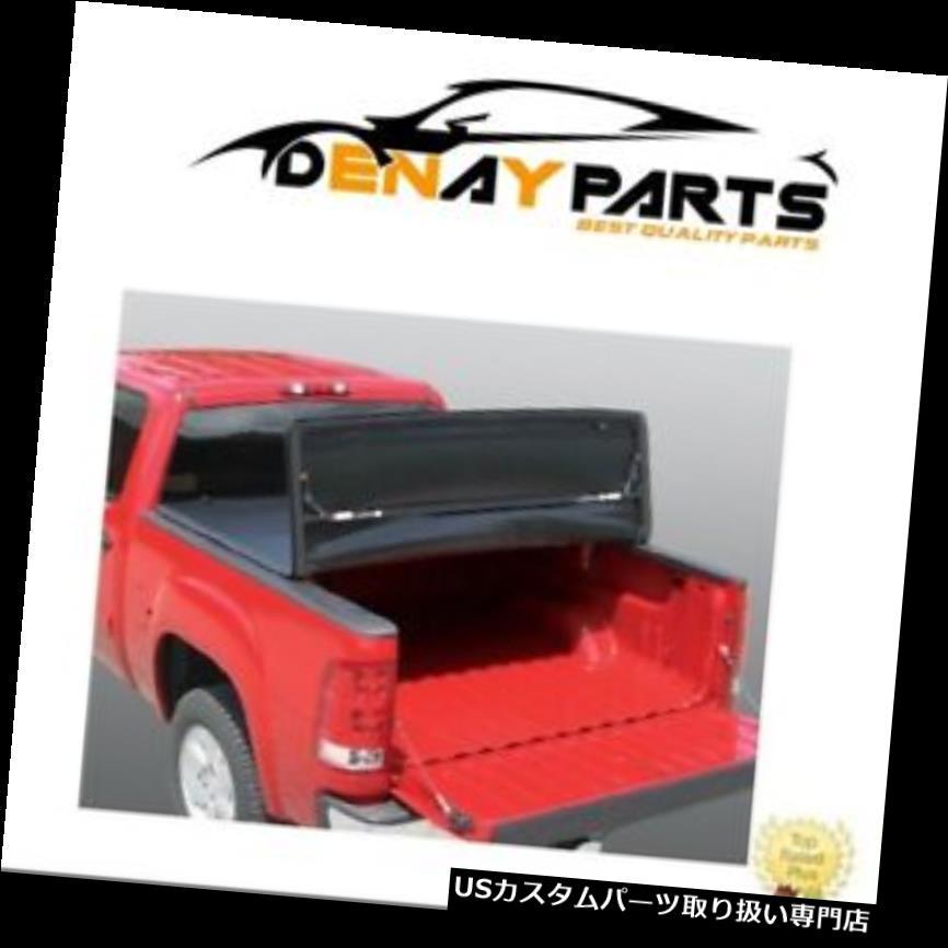 トノーカバー トノカバー 09-17 RAM 8FTビニール三つ折りトノーベッドカバー頑丈なライナーFCD809 For 09-17 RAM 8FT Vinyl Tri Fold Tonneau Bed Cover Rugged Liner FCD809
