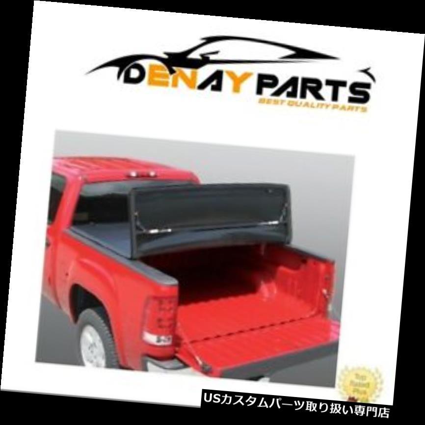 トノーカバー トノカバー 09-17用RAM 5.5FT(ユーティリティトラック付)三つ折りトノーベッドカバー頑丈なライナー For 09-17 RAM 5.5FT (With Utility Track)Tri Fold Tonneau Bed Cover Rugged Liner