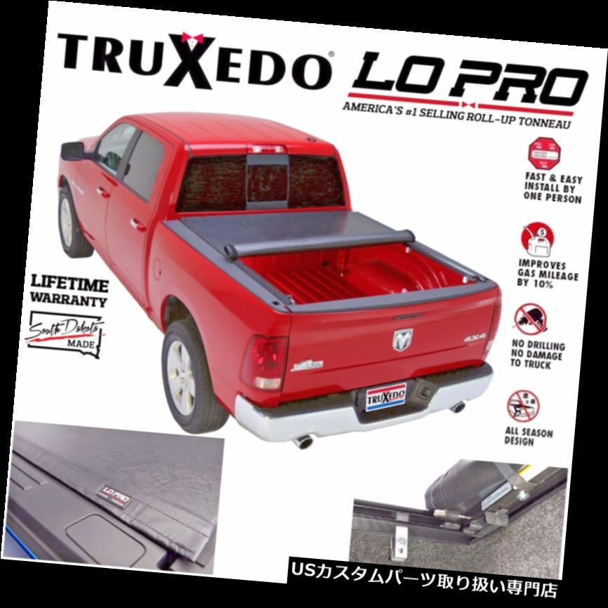 トノーカバー トノカバー TRUXEDO LO PRO QTロールアップトニーカバーフィット2009-2019ドッジRAM 1500 6.4 'ベッド TRUXEDO LO PRO QT ROLL UP TONNEAU COVER FITS 2009-2019 DODGE RAM 1500 6.4' BED