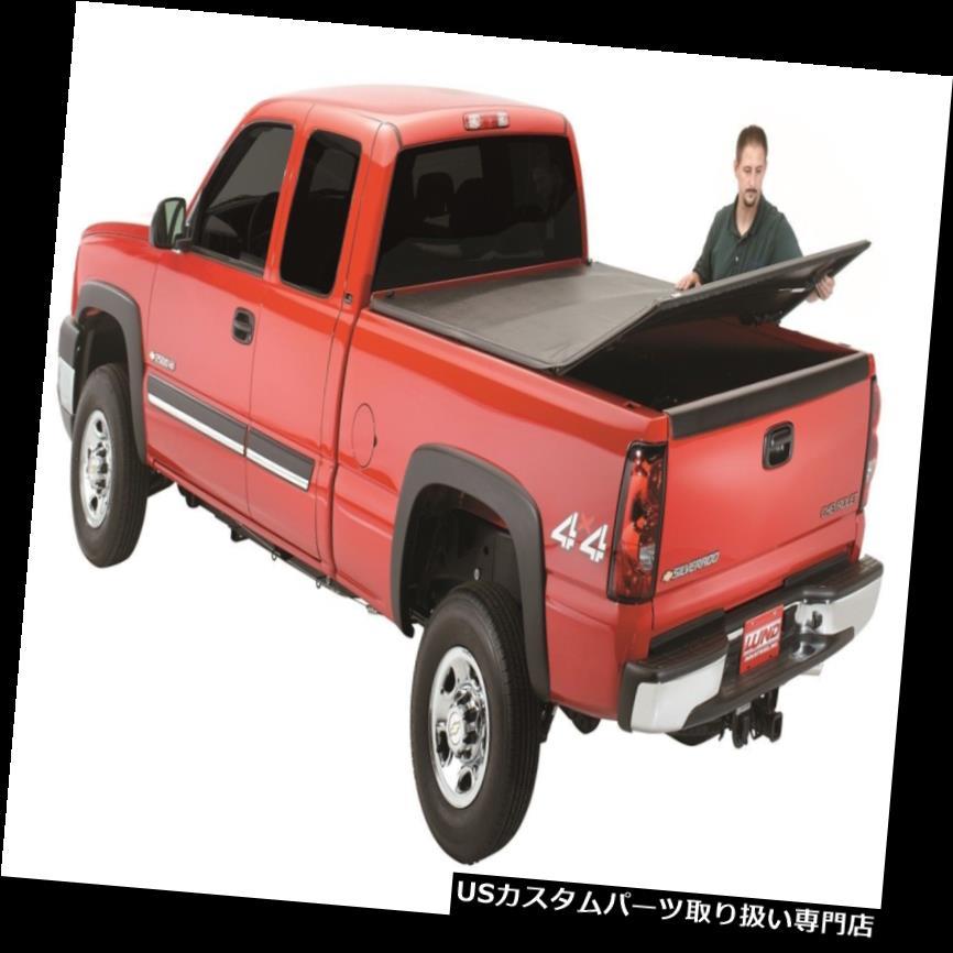トノーカバー トノカバー トノカバー創世記( TM)三つ折りトノルンド950122は07-18のトヨタツンドラにフィット Tonneau Cover-Genesis(TM) Tri-Fold Tonneau LUND 950122 fits 07-18 Toyota Tundra