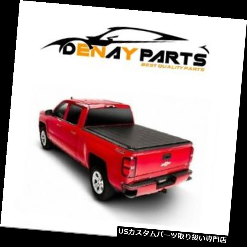 """Premium Lock Roll Up Soft Tonneau Cover for 2007-2013 GMC SIERRA 5.8 FT 68/"""" Bed"""