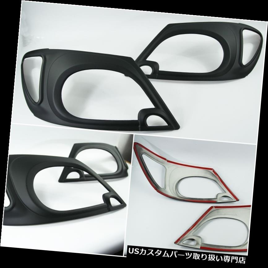 ヘッドライトカバー ブラックヘッドライトランプカバートヨタピックアップHILUX VIGO SR5 2005-2011 BLACK HEAD LIGHT LAMP COVER TOYOTA PICKUP HILUX VIGO SR5 2005-2011
