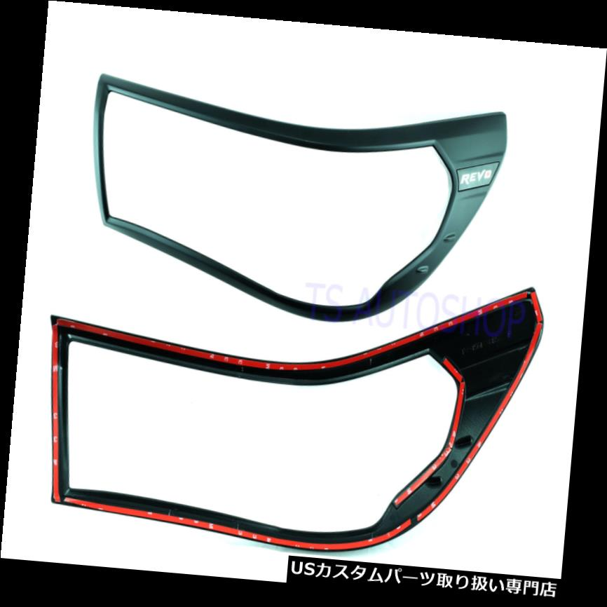 FOR TOYOTA HILUX REVO M70 M80 2015-16-17 COVER SIDE MIRROR MATT MATTE BLACK