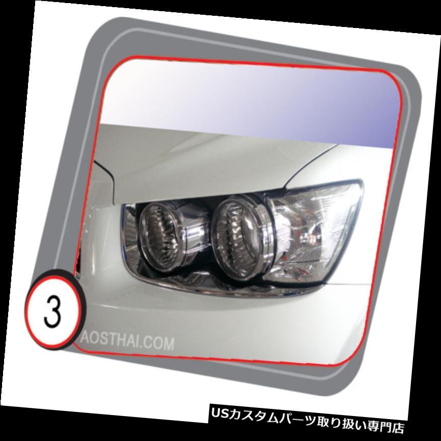 ヘッドライトカバー シボレーソニック4ドアセダン2013のためのクロームヘッドライトカバー CHROME HEAD LAMP LIGHT COVER FOR CHEVROLET SONIC 4 DOOR SEDAN 2013