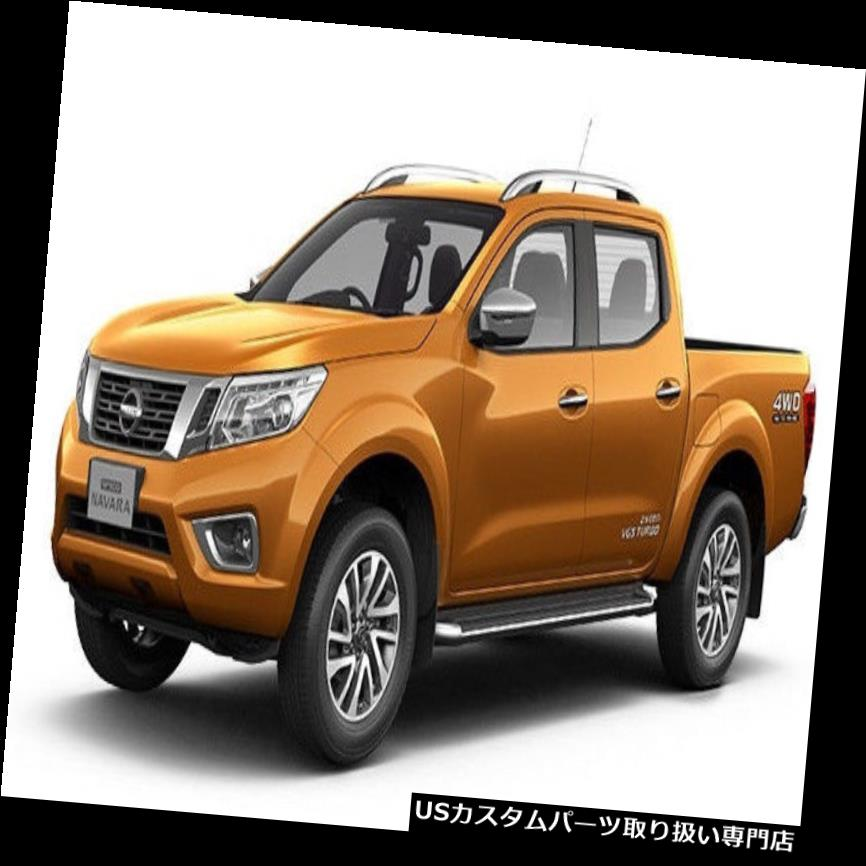 Fog Lamp Light Cover Chrome LH RH Nissan NP300 Navara Frontier fit 2015 16-17