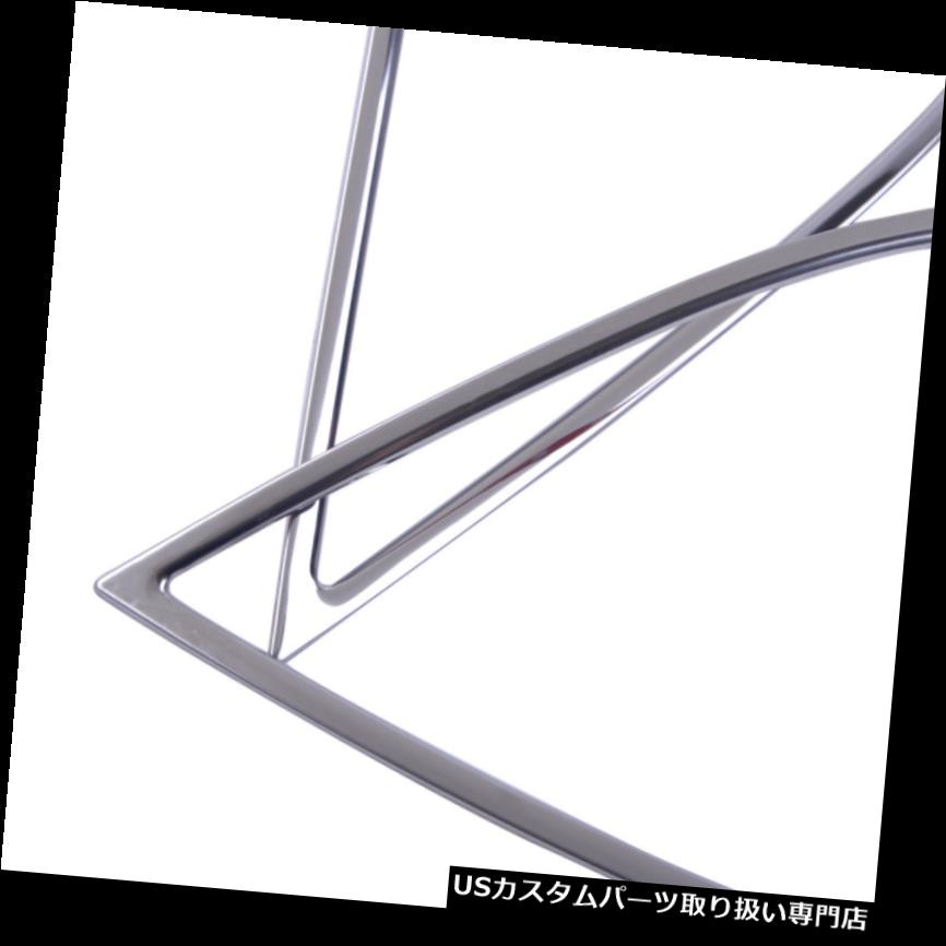 Stainless Steel Front Head Fog Light Lamp Cover Trim Molding For Toyota Camry 18
