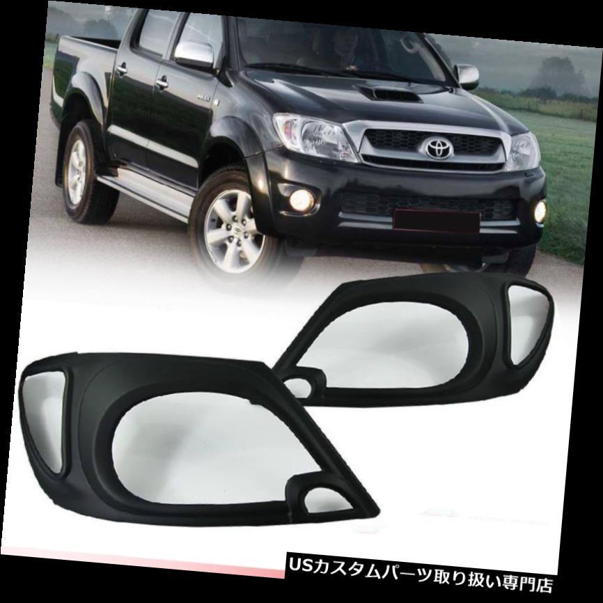 車用品・バイク用品 >> 車用品 >> パーツ >> 外装・エアロパーツ >> ヘッドライトカバー・アイライン ヘッドライトカバー トヨタハイラックスビゴMK6用マットマットブラックカバーフロントランプヘッドライト2009-2011 MATTE MATT BLACK COVER FRONT LAMP HEAD LIGHT FOR TOYOTA HILUX VIGO MK6 2009-2011
