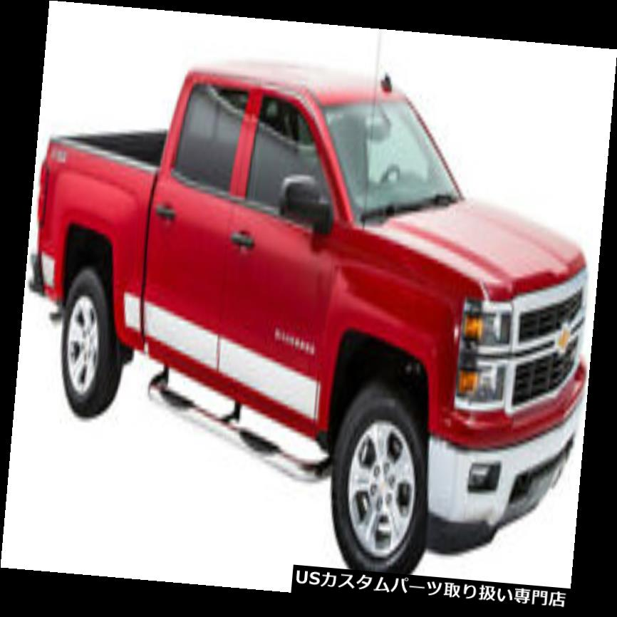 USロッカーパネルカバー T2277-304M NEWポリッシュロッカーパネルカバー14-17 SIERRA EXT CAB 6.5 BED  T2277-304M NEW Polished Rocker Panel Covers 14-17 SIERRA EXT CAB 6.5 BED