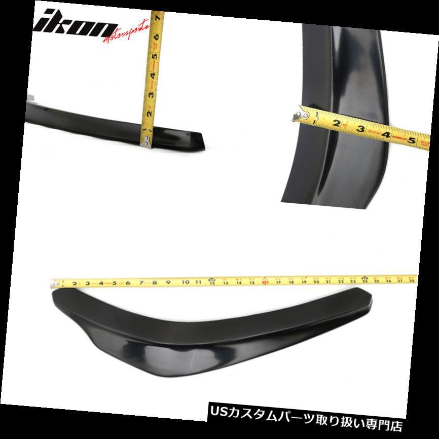 24x4 Ikon Style Universal Front Bumper Lip Splitter Add On 2 PC