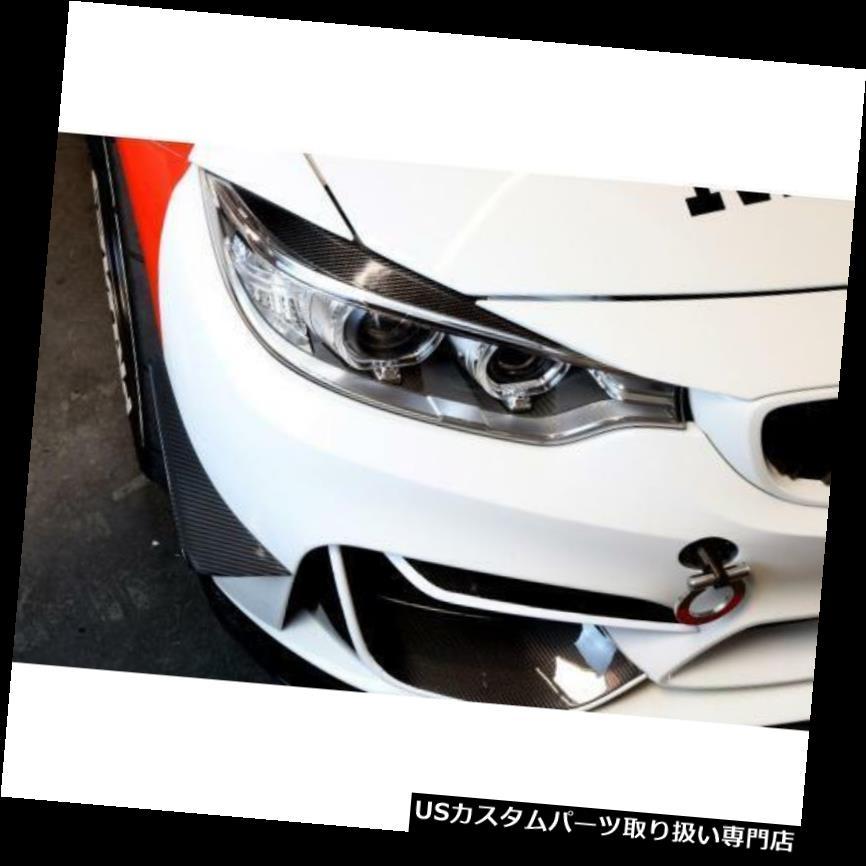 USカナード APRパフォーマンスカーボンファイバーフロントバンパーカナードセットBMW F80 M3 F82 M4新 APR Performance Carbon Fiber Front Bumper Canards Set BMW F80 M3 F82 M4 New