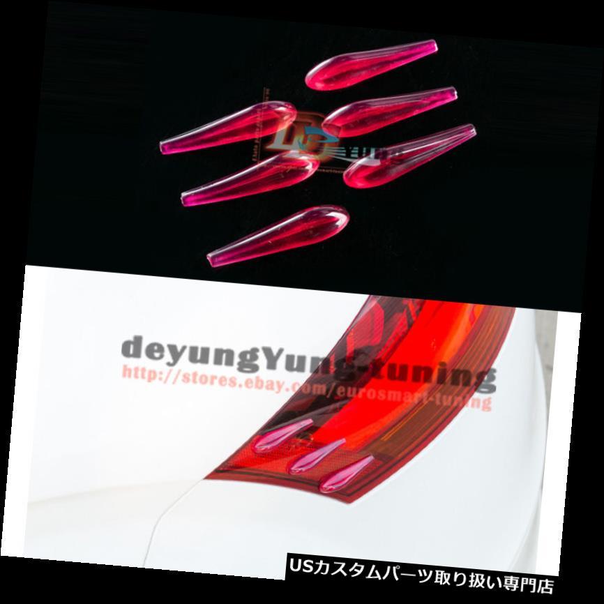 USカナード ホンダのJDM RSターボスポーツテールライトエアロパックカナードレッドトランクスポイラーウイング JDM RS Turbo Sport Taillight Aero Pack Canard Red Trunk Spoiler Wing For Honda