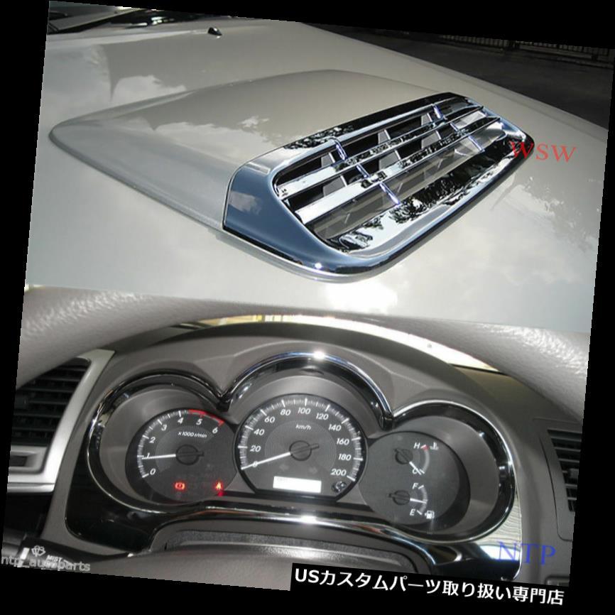 車用品・バイク用品 >> 車用品 >> アクセサリー >> ダッシュボードマット ダッシュボードマット クロームフードスクープダッシュゲージカバーサラウンドフィットトヨタハイラックスビゴチャンプMK7 SR5 CHROME HOOD SCOOP DASH GAUGE COVER SURROUND FITS TOYOTA HILUX VIGO CHAMP MK7 SR5