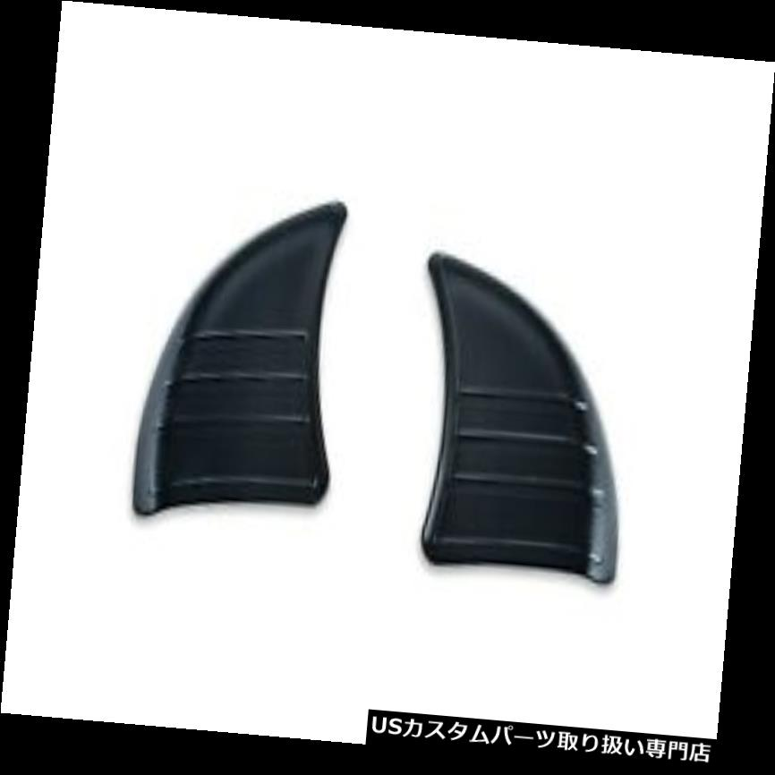 トライク カバー 旅行/トライク14-17 6979のためのKuryakynトライラインインナーフェアリングカバープレートブラック Kuryakyn Tri Line Inner Fairing Cover Plates Black For Touring/Trike 14-17 6979