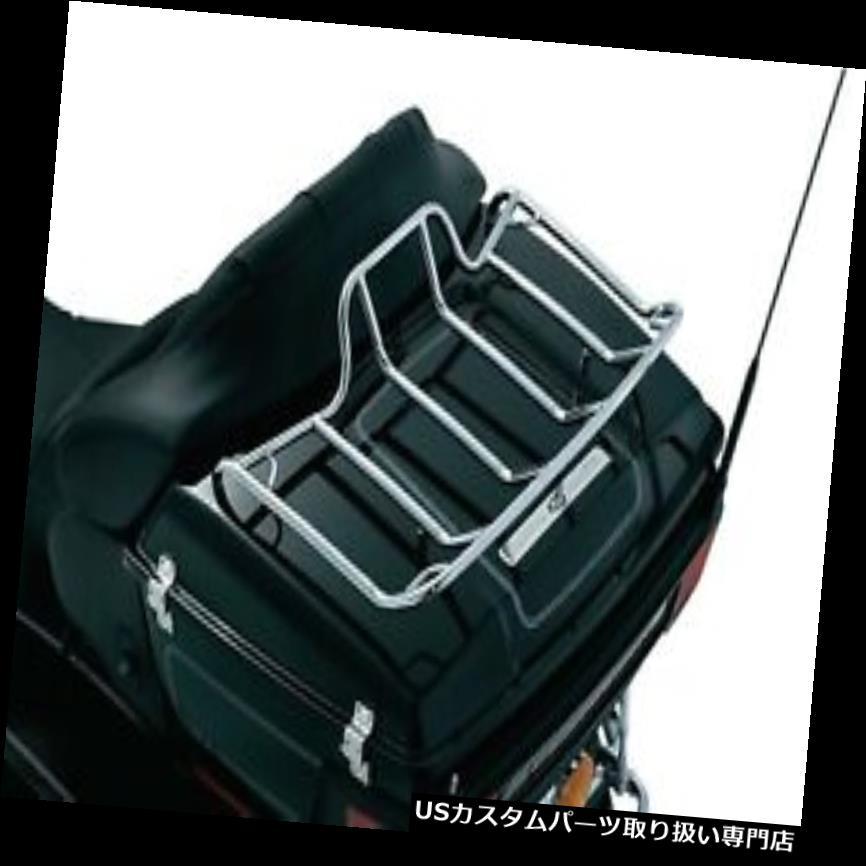トライク カバー ハーレークリヤキンラゲッジラックツアーパックツーリングトライク80-19クロームベルトカバー Harley Kuryakyn Luggage Rack Tour Pak Touring Trike 80-19 Chrome Belt Cover