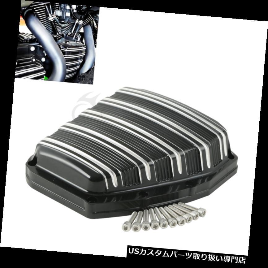 トライク カバー ブラックCNCカムカバーハーレーブラックラインブレイクアウトダイナ2001-2017トライクモデル Black CNC Cam Cover F?r Harley Blackline Breakout Dyna 2001-2017 Trike models