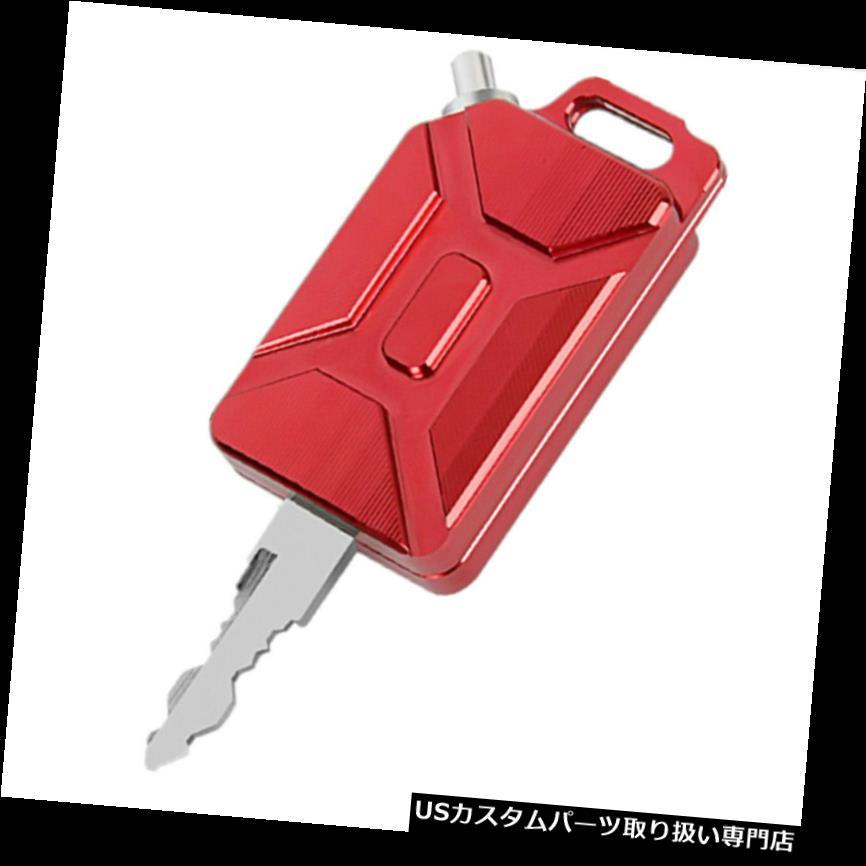 トライク カバー ヤマハの赤のための人格3D CNCのオイルタンクの形のオートバイのキーカバーのキーホルダー Personality 3D CNC Oil Tank Shape Motorcycle Key Cover Keychain For Yamaha Red