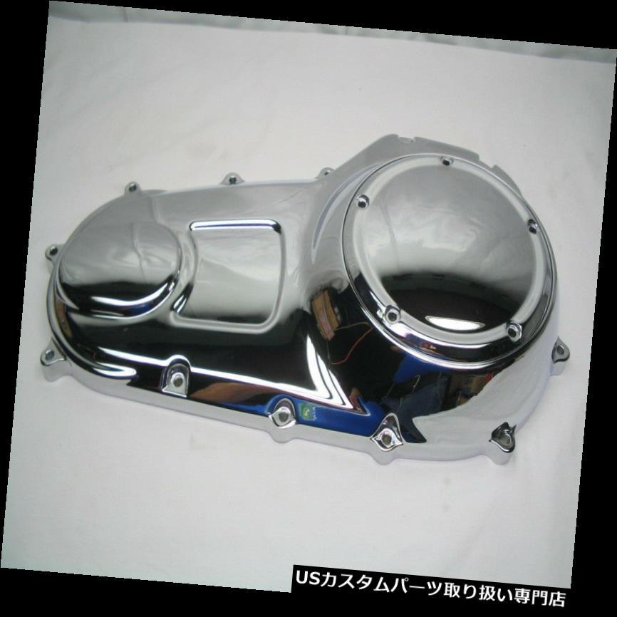 トライク カバー Chrome Narrow-Profileアウタープライマリー ダービーカバー'07 -'16ハーレーツーリング& A トライク Chrome Narrow-Profile Outer Primary & Derby Cover '07-'16 Harley Touring & Trike
