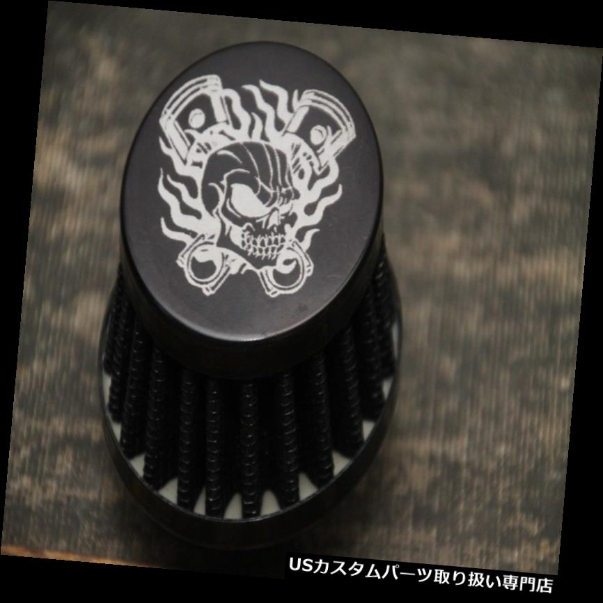トライク カバー バルブカバー用ブラックブリーザーフィルターゴーカートミニバイクドリフトトライク Black Breather Filter for Valve Cover GoKart Minibike Drift Trike