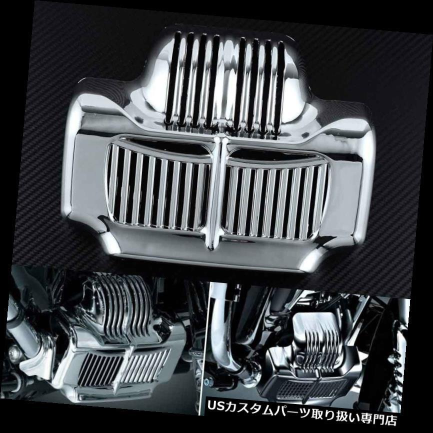 トライク カバー ハーレーツーリングロードキングエレクトラストリートグライド用トライクストックオイルクーラーカバー Trike Stock Oil Cooler Cover For Harley Touring Road King Electra Street Glide
