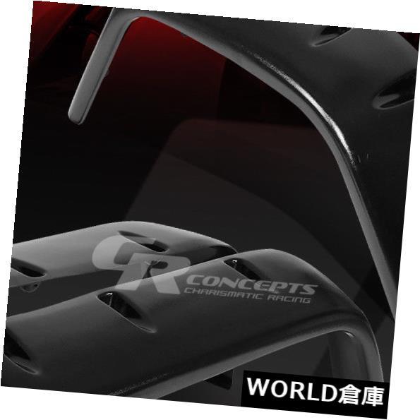 フェンダー 97-06ジープラングラー用フロント+リアマットABSサイドフェンダーホイールフレア/カバー FRONT+REAR MATTE ABS SIDE FENDER WHEEL FLARES/COVERS FOR 97-06 JEEP WRANGLER