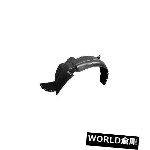 フェンダー 新しい運転席側フロントフェンダーライナー。 プラスチック製14-17ヒュンダイアクセントハッチバック New Driver Side Front Fender Liner; Plastic fits 14-17 Hyundai Accent Hatchback