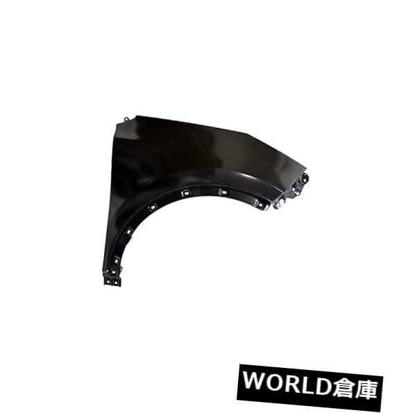 フェンダー 17 Kia Sportage(フロント助手席側)KI1241150用交換用フェンダー Replacement Fender for 17 Kia Sportage (Front Passenger Side) KI1241150