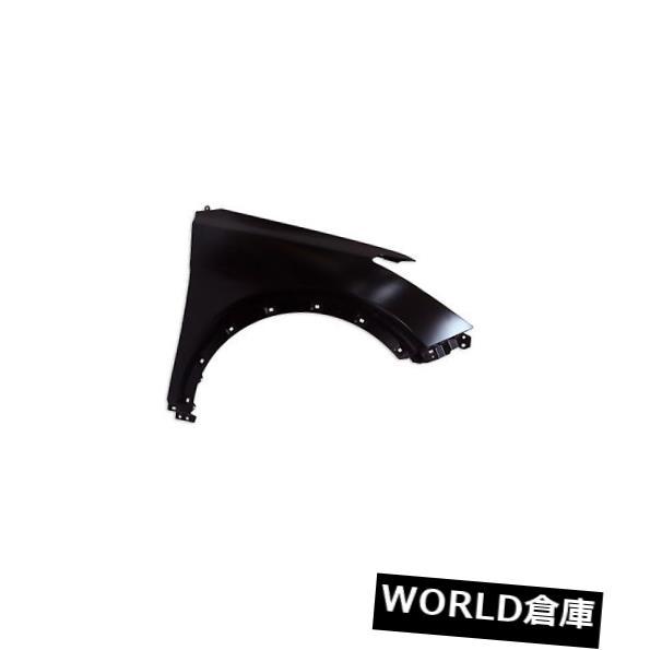 フェンダー 13-15ヒュンダイサンタフェ(助手席側)HY1241160C用交換用フェンダー Replacement Fender for 13-15 Hyundai Santa Fe (Front Passenger Side) HY1241160C