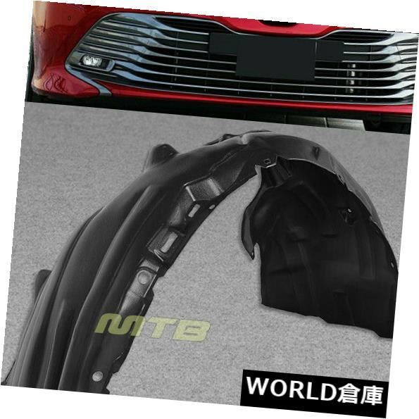 フェンダー 2018-2019トヨタカムリXLE LE Lハイブリッドフロント左フェンダーライナースプラッシュシールド用 For 2018-2019 Toyota Camry XLE LE L Hybrid Front Left Fender Liner Splash Shield