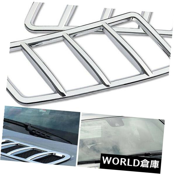 Front Hood Air Vent Molding Cover Trim For Mercedes Benz ML /& GL Class W166 X166