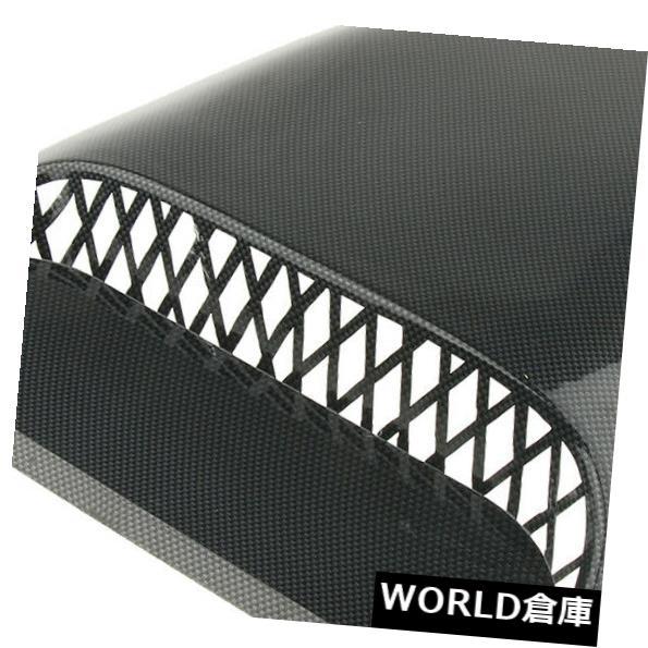 USフードベントトリム プラスチック製の車のフードの吸気口カバートリムエアダクトベントの装飾フレーム Plastic Car Hood Air Intake Cover Trim Air Duct Vent Decor Frame