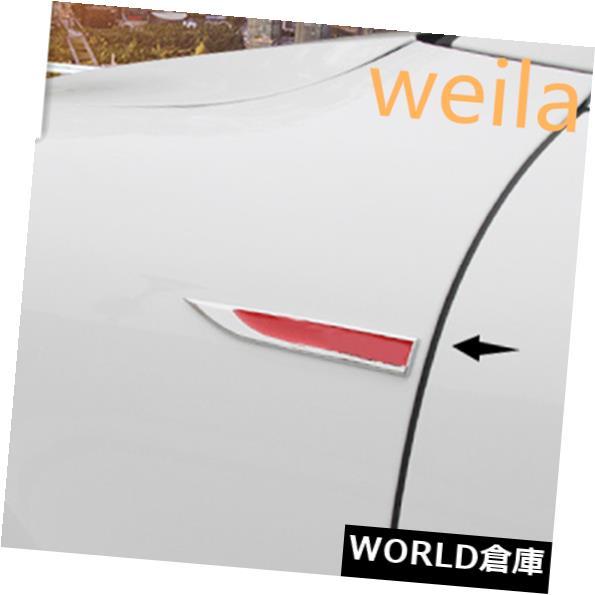 USフードベントトリム 2PCSステンレス鋼エアベントフードインテークフェンダーカバー用ポルシェ718ボクスター 2PCS Stainless steel Air Vent Hood Intake Fender Cover For Porsche 718 Boxster