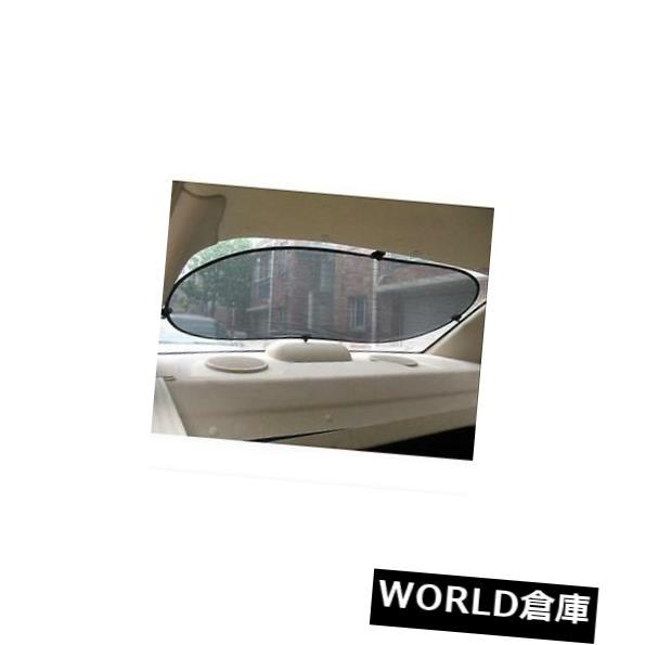 USサンバイザー 黒い車の後部後部窓の日焼け止めの日曜日の陰のバイザーカバーの網の盾50x100 CM Black Car Rear Back Window Sunscreen Sun Shade Visor Cover Mesh Shield 50x100 CM
