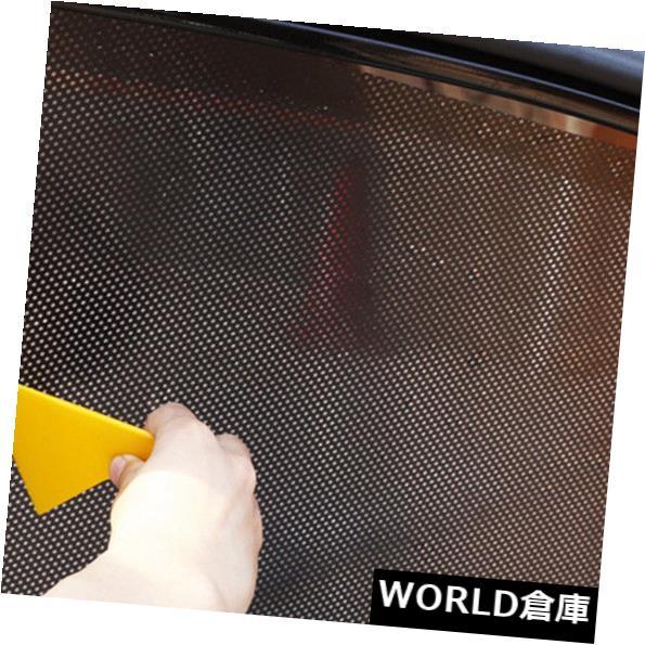 USサンバイザー 2大型車のサイドウィンドウネットサンシェードシャードソーラーメッシュフィルムステッカーUVプロテクター 2 Large Car Side Window Net Sun Shade Shied Solar Mesh Film Sticker UV Protector