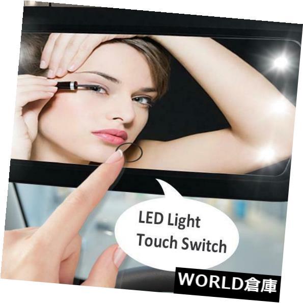USサンバイザー 車LEDの構造内部の高く明確なミラーの自動日曜日のバイザーの構造ミラー Car LED Makeup Interior High Clear Mirror Auto Sun visor make-up mirror