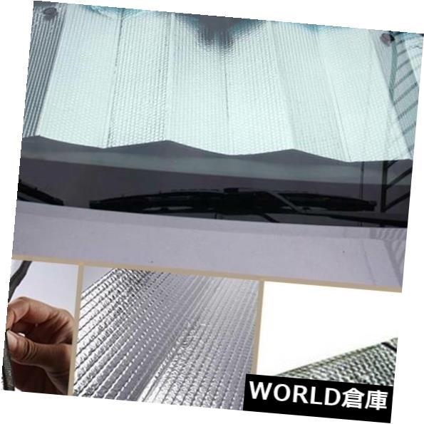 USサンバイザー 車のフロントガラスカバーフロントリアウインドウサンスノーシェードバイザープロテクターShied NEW Car Windshield Cover Front Rear Window Sun Snow Shade Visor Protector Shied NEW